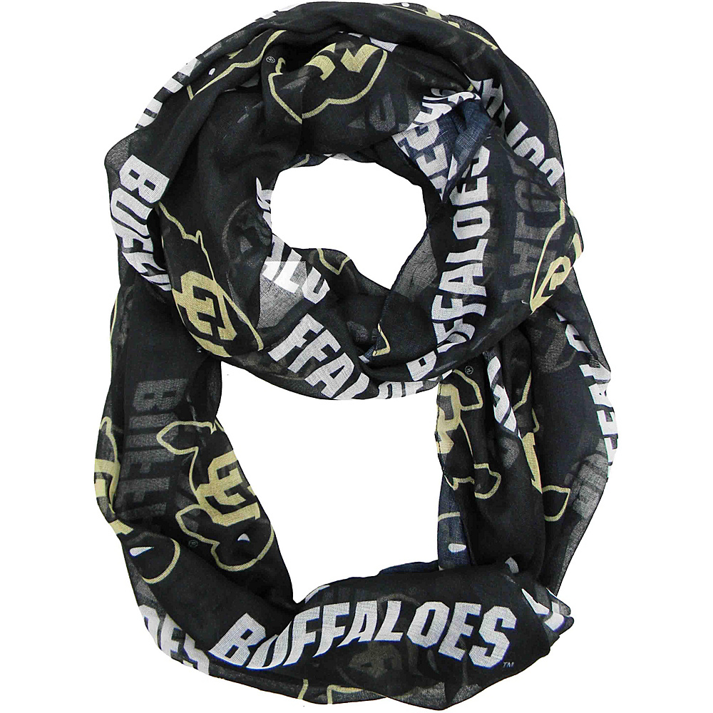 Littlearth Sheer Infinity Scarf - Pac 12 Teams Colorado, U of - Littlearth Hats/Gloves/Scarves - Fashion Accessories, Hats/Gloves/Scarves
