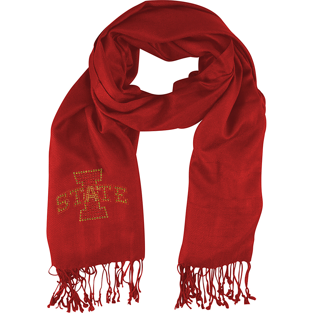 Littlearth Pashi Fan Scarf - Big 12 Teams Iowa State University - Littlearth Hats/Gloves/Scarves - Fashion Accessories, Hats/Gloves/Scarves