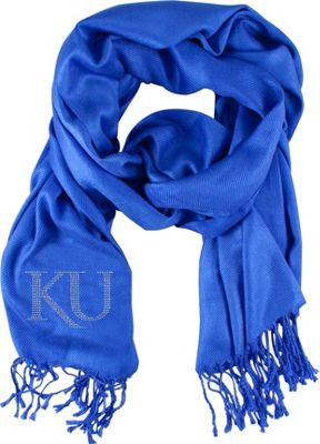 Littlearth Pashi Fan Scarf - Big 12 Teams Kansas, U of - Littlearth Hats/Gloves/Scarves