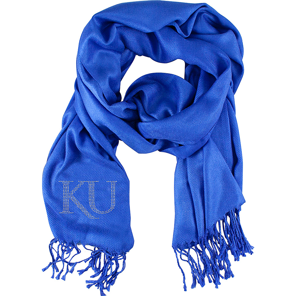 Littlearth Pashi Fan Scarf - Big 12 Teams Kansas, U of - Littlearth Hats/Gloves/Scarves - Fashion Accessories, Hats/Gloves/Scarves