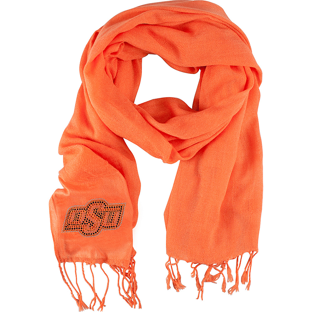 Littlearth Pashi Fan Scarf - Big 12 Teams Oklahoma State University - Littlearth Hats/Gloves/Scarves - Fashion Accessories, Hats/Gloves/Scarves