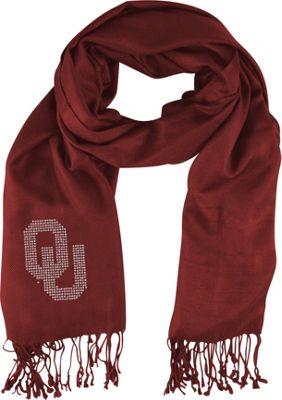 Littlearth Pashi Fan Scarf - Big 12 Teams Oklahoma, U of - Littlearth Hats/Gloves/Scarves