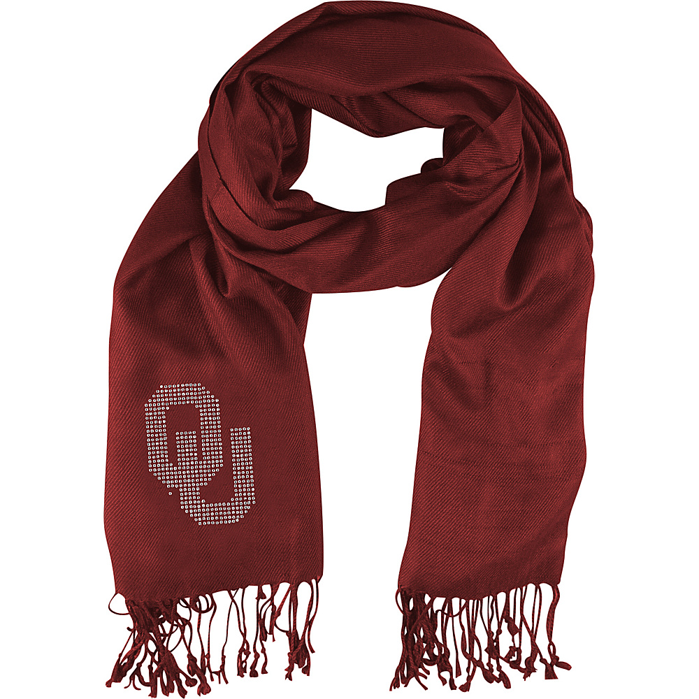 Littlearth Pashi Fan Scarf - Big 12 Teams Oklahoma, U of - Littlearth Hats/Gloves/Scarves - Fashion Accessories, Hats/Gloves/Scarves