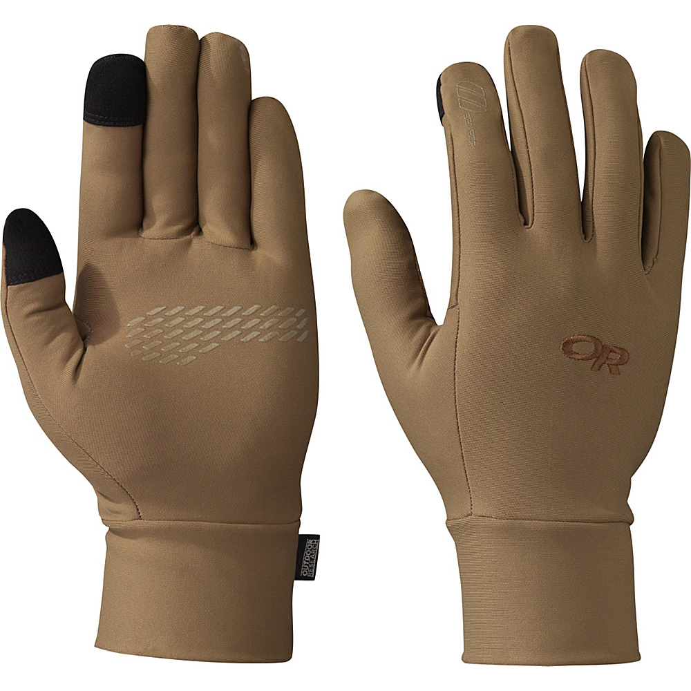 Outdoor Research PL Base Sensor Gloves Mens L - Coyote - Outdoor Research Hats/Gloves/Scarves - Fashion Accessories, Hats/Gloves/Scarves