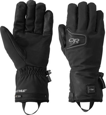 Outdoor Research Stormtracker Heated Gloves XL - Black - ...