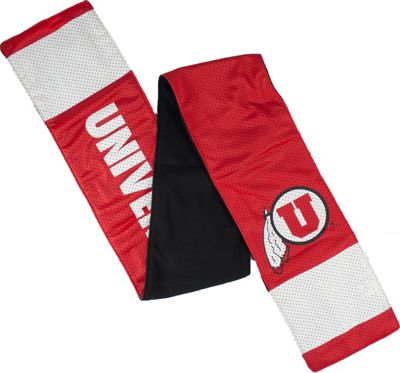 Littlearth Jersey Scarf - Pac 12 Teams Utah, U of - Littlearth Hats/Gloves/Scarves