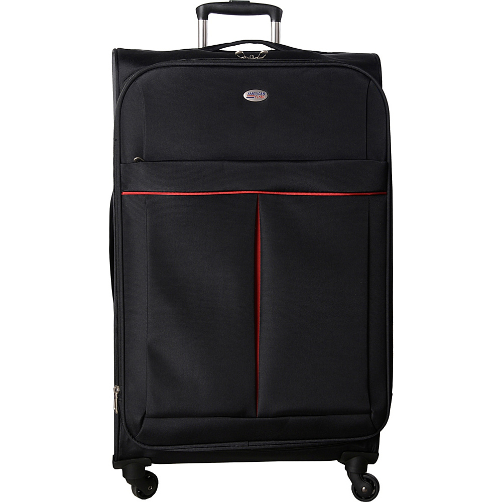 American Flyer Simply Lite! Collection 28 Spinner Black American Flyer Softside Checked