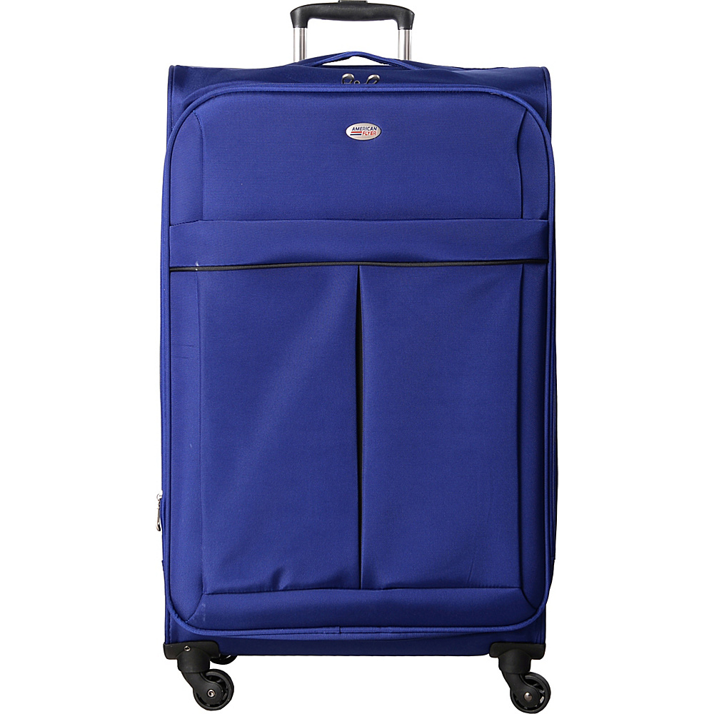 American Flyer Simply Lite! Collection 28 Spinner Blue American Flyer Softside Checked