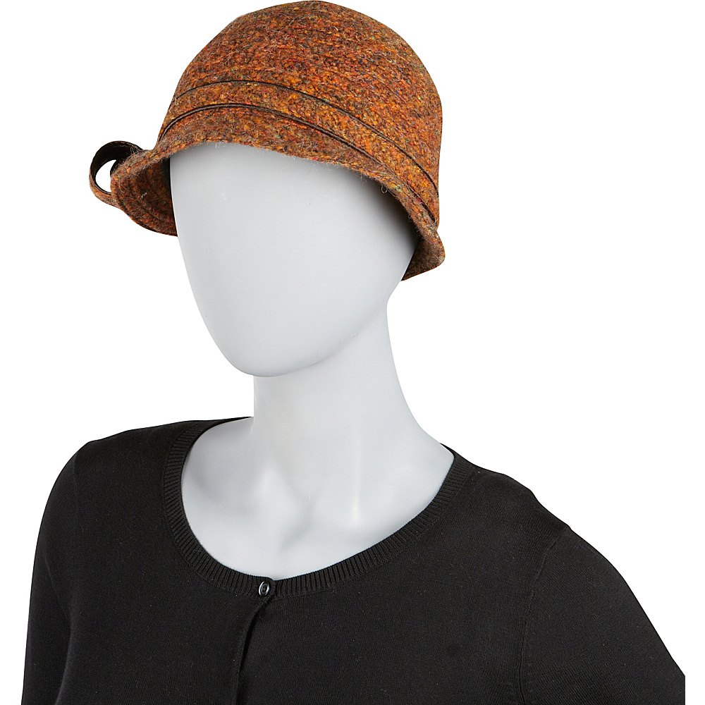 Betmar New York Ella Cloche One Size - Black Multi - Betmar New York Hats/Gloves/Scarves