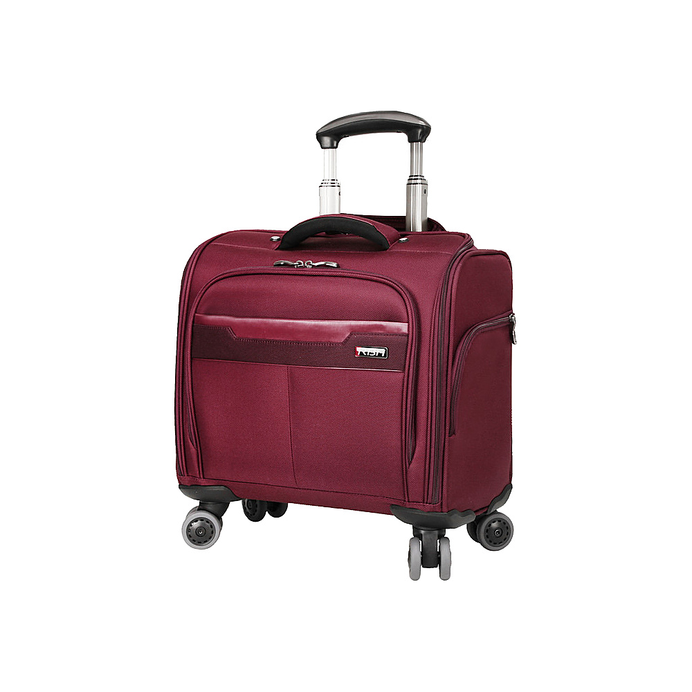 "Ricardo Beverly Hills Bel Aire 16"" Rolling Tote Wine - Ricardo Beverly Hills Wheeled Business Cases"