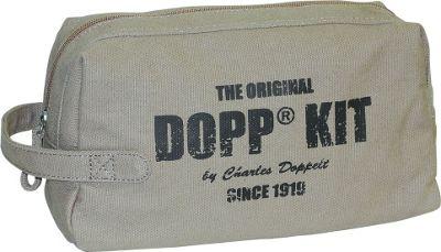 Dopp Legacy One Zip Travel Kit Beige - Dopp Toiletry Kits