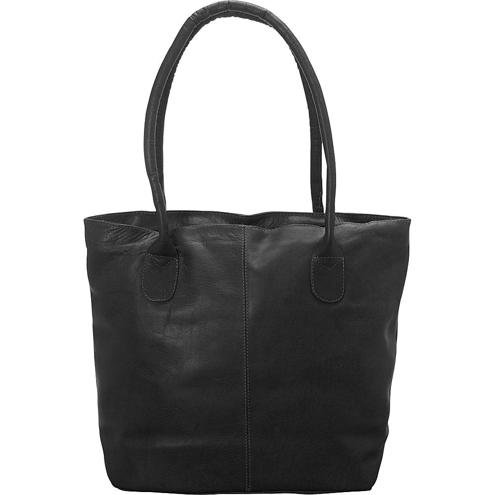 Latico Leathers Market Tote Black - Latico Leathers Leather Handbags - Handbags, Leather Handbags