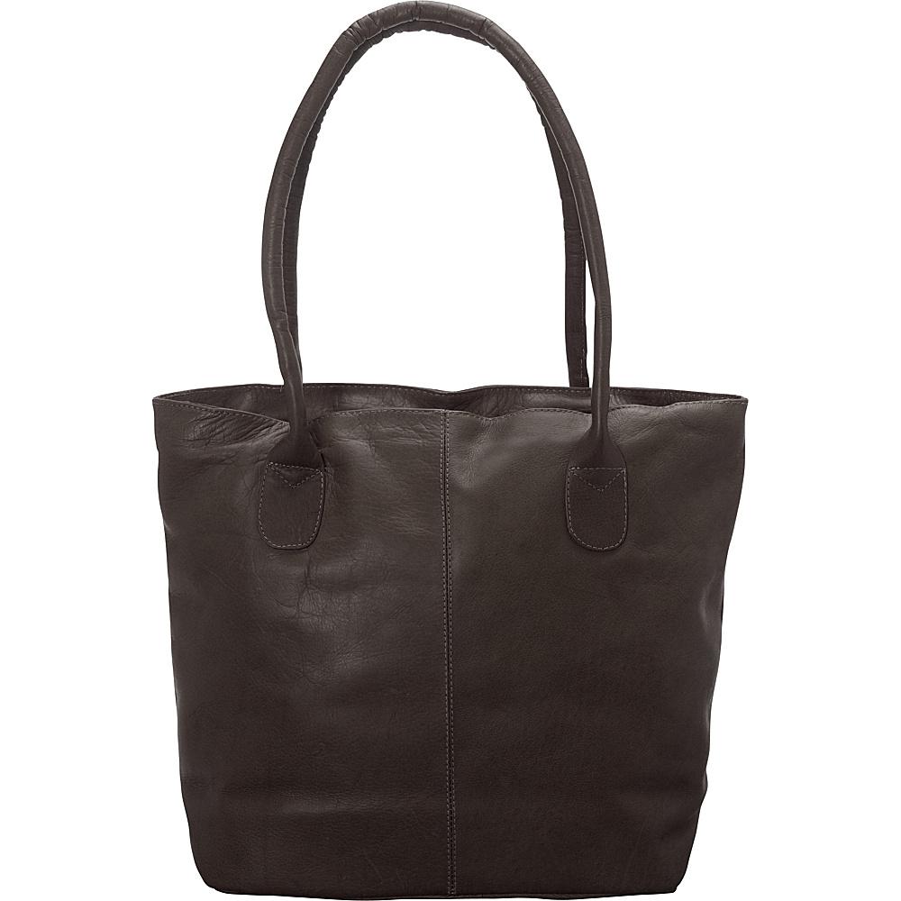 Latico Leathers Market Tote Café - Latico Leathers Leather Handbags - Handbags, Leather Handbags