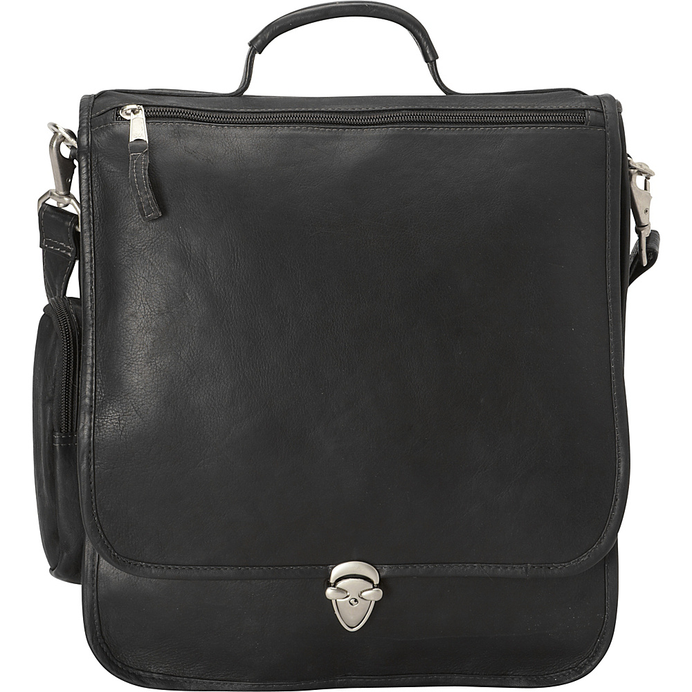Latico Leathers Hollywood Laptop Shoulder Bag/Brief Black - Latico Leathers Non-Wheeled Business Cases - Work Bags & Briefcases, Non-Wheeled Business Cases