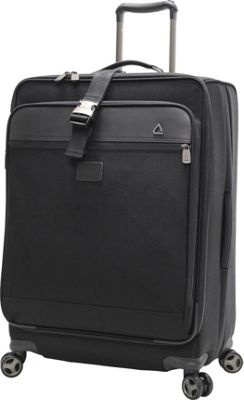"""Image of Andiamo Avanti 24"""" Expandable Spinner with Suitor Midnight Black - Andiamo Large Rolling Luggage"""