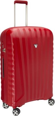 Roncato UNO ZSL Premium 28 inch Spinner Red - Roncato Hardside Checked