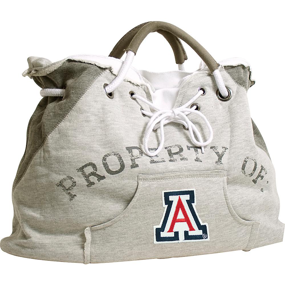 Littlearth Hoodie Tote - PAC 12 Teams Univeristy of Arizona - Littlearth Fabric Handbags - Handbags, Fabric Handbags