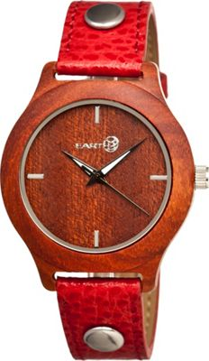 Earth Wood Tannins Watch Red Rosewood - Earth Wood Watches