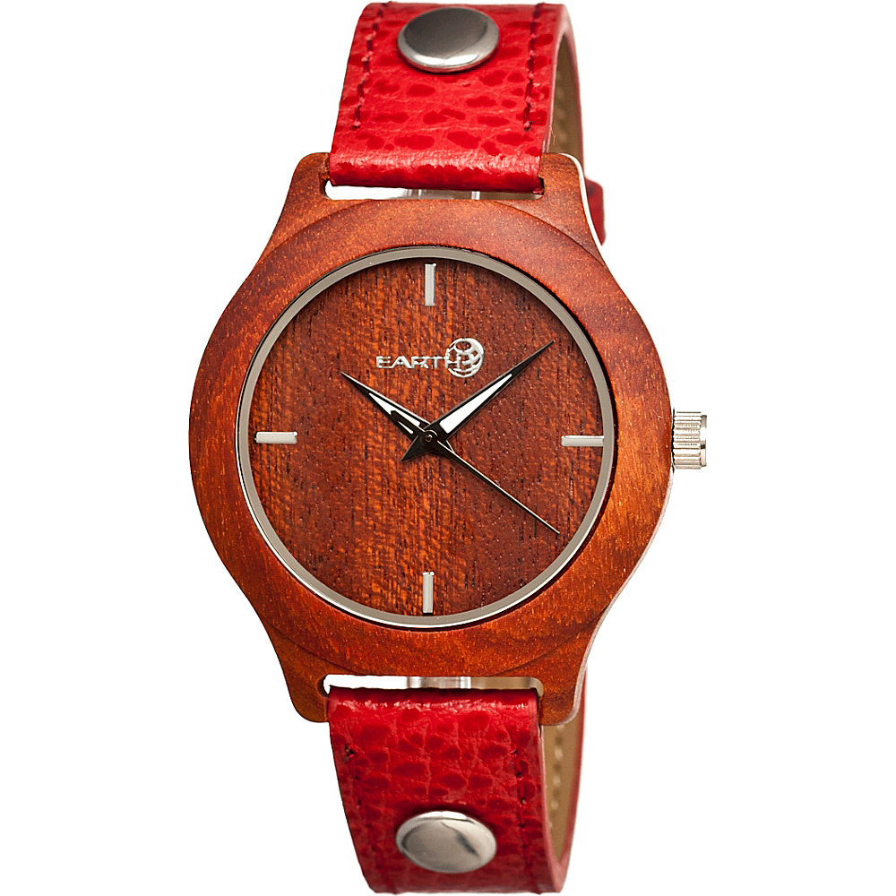 Earth Wood Tannins Watch Red Rosewood Earth Wood Watches