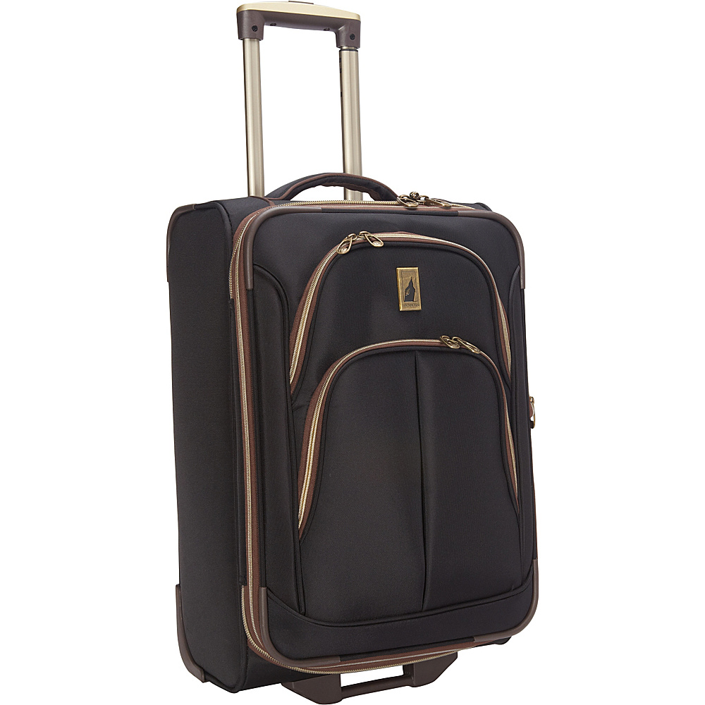 London Fog Coventry Ultra Lite Collection 21 Carry On Upright Black London Fog Softside Carry On
