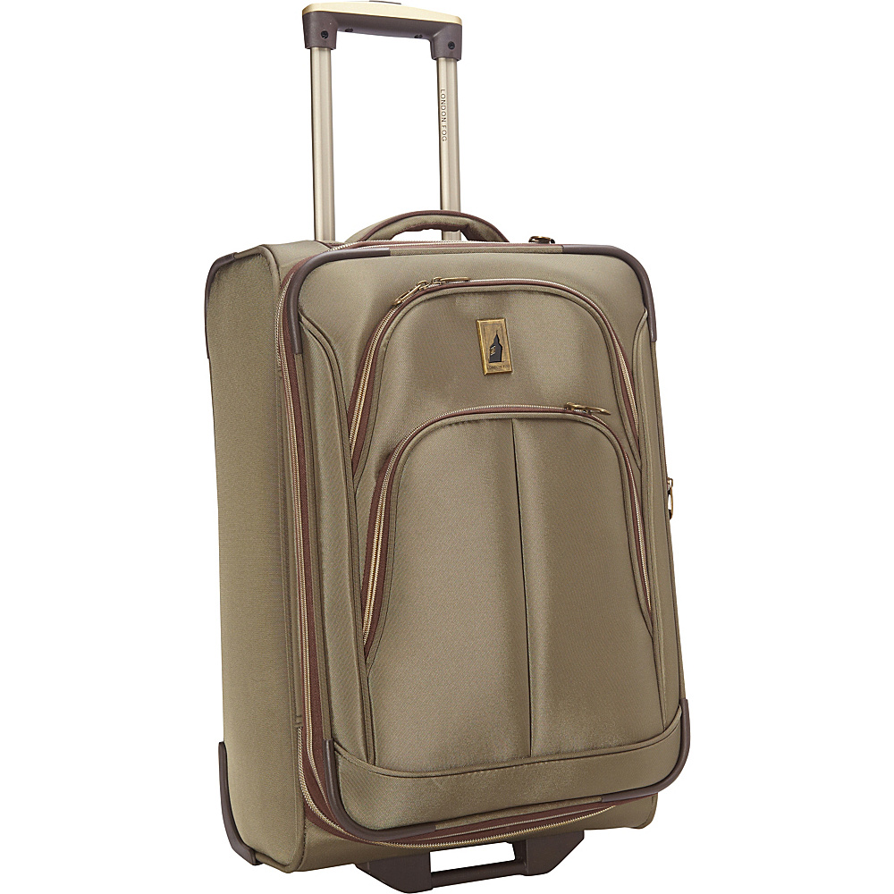"London Fog Coventry Ultra-Lite Collection 21"" Carry-On Upright Spruce - London Fog Softside Carry-On"