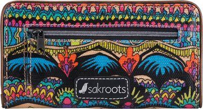 Sakroots Artist Circle Slim Wallet Radiant One World - Sakroots Women's Wallets