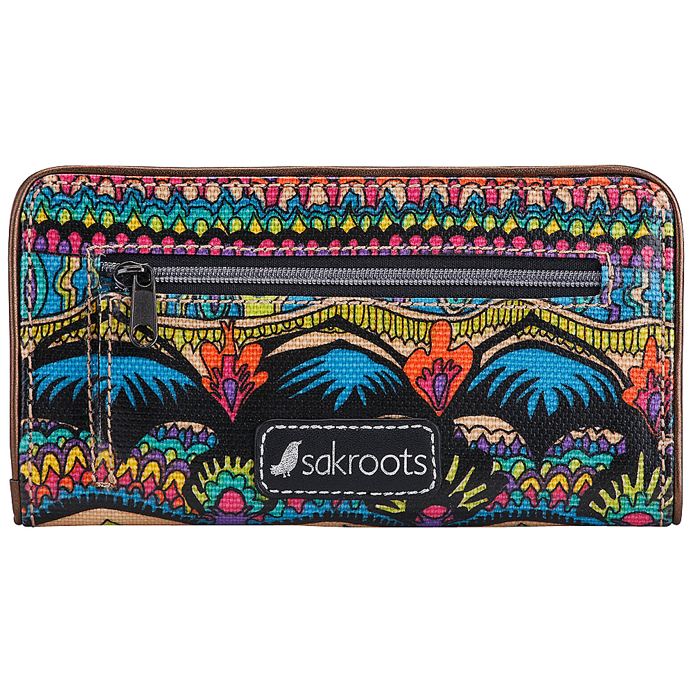 Sakroots Artist Circle Slim Wallet Radiant One World - Sakroots Womens Wallets - Women's SLG, Women's Wallets