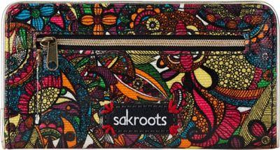 Sakroots Artist Circle Slim Wallet Rainbow Spirit Desert - Sakroots Women's Wallets