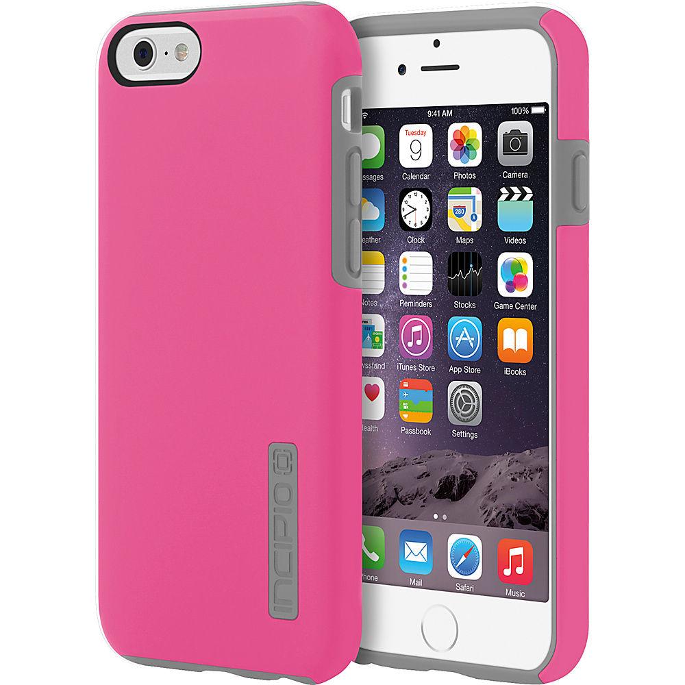 Incipio DualPro iPhone 6 6s Case Pink Charcoal Incipio Electronic Cases