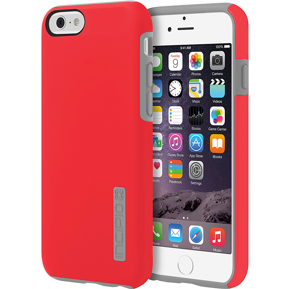 Incipio DualPro iPhone 6/6s Case Red/Charcoal - Incipio Electronic Cases - Technology, Electronic Cases