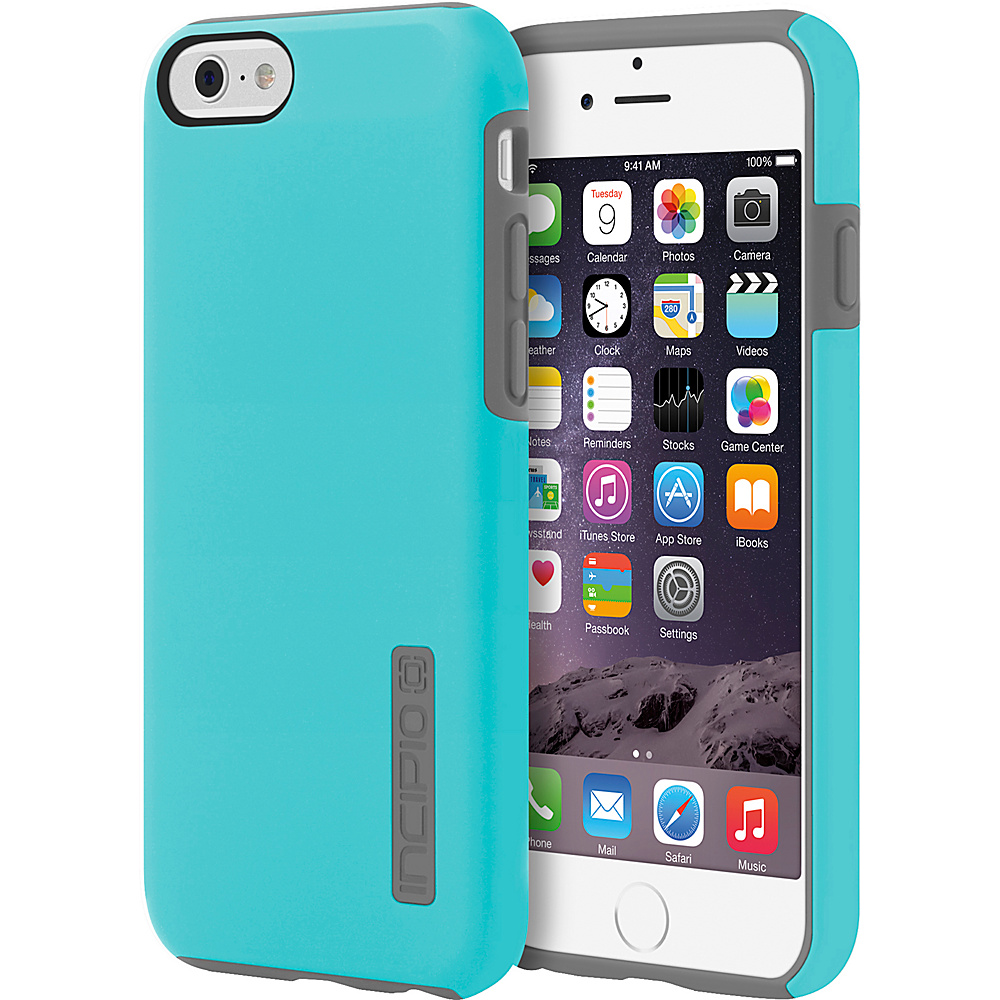 Incipio DualPro iPhone 6/6s Case Cyan/Charcoal - Incipio Electronic Cases - Technology, Electronic Cases