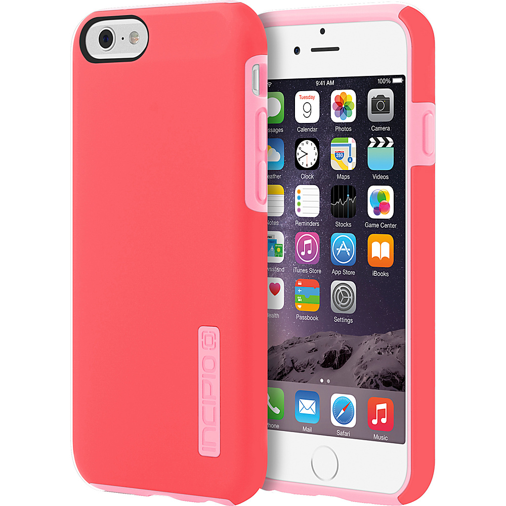 Incipio DualPro iPhone 6/6s Case Coral/Light Pink - Incipio Electronic Cases - Technology, Electronic Cases
