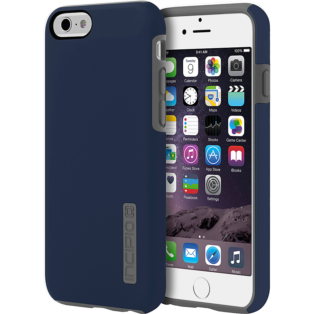 Incipio DualPro iPhone 6/6s Case Navy Blue/Charcoal - Incipio Electronic Cases - Technology, Electronic Cases