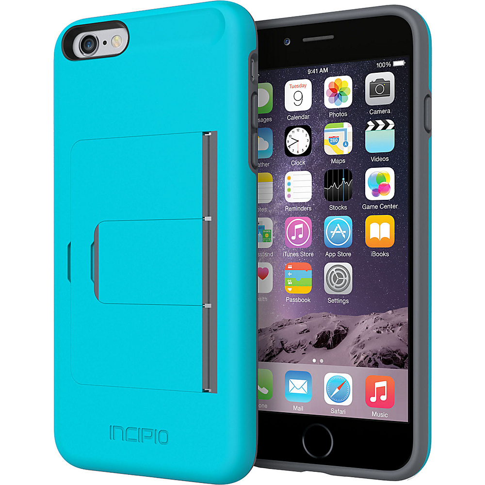 Incipio Stowaway Advance iPhone 6/6s Plus Case Blue/ Gray - Incipio Electronic Cases - Technology, Electronic Cases