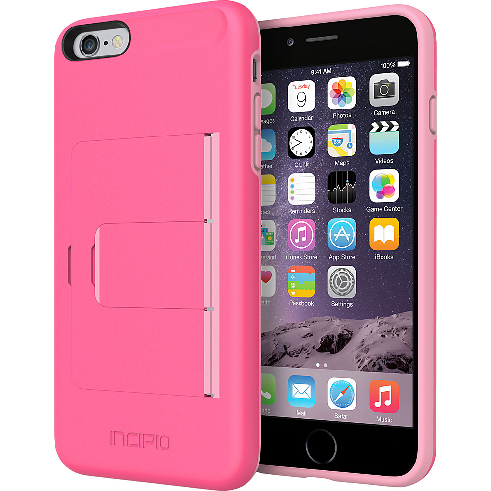 Incipio Stowaway Advance iPhone 6/6s Plus Case Pink/Light Pink - Incipio Electronic Cases - Technology, Electronic Cases