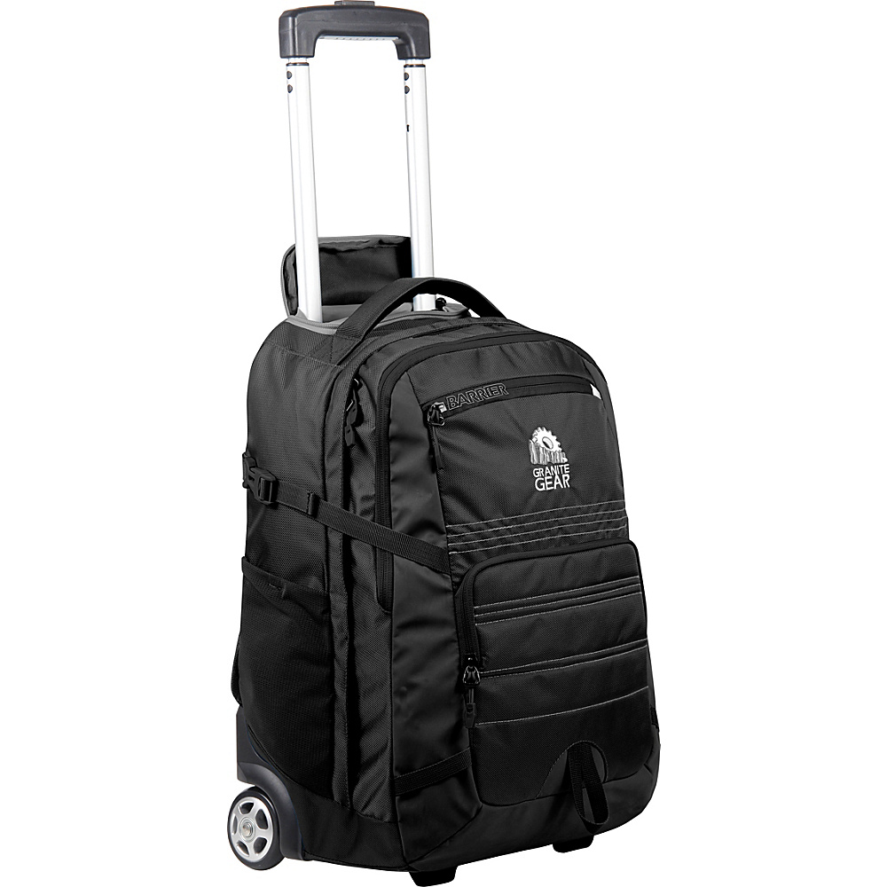 Granite Gear Haulsted Wheeled Backpack Black Granite Gear Rolling Backpacks