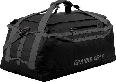 Granite Gear 36 inch Packable Duffel Black/Flint - Granite Gear Outdoor Duffels