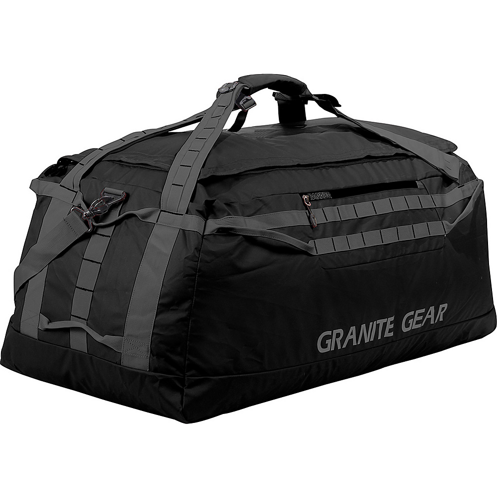 Granite Gear 36 Packable Duffel Black Flint Granite Gear Outdoor Duffels