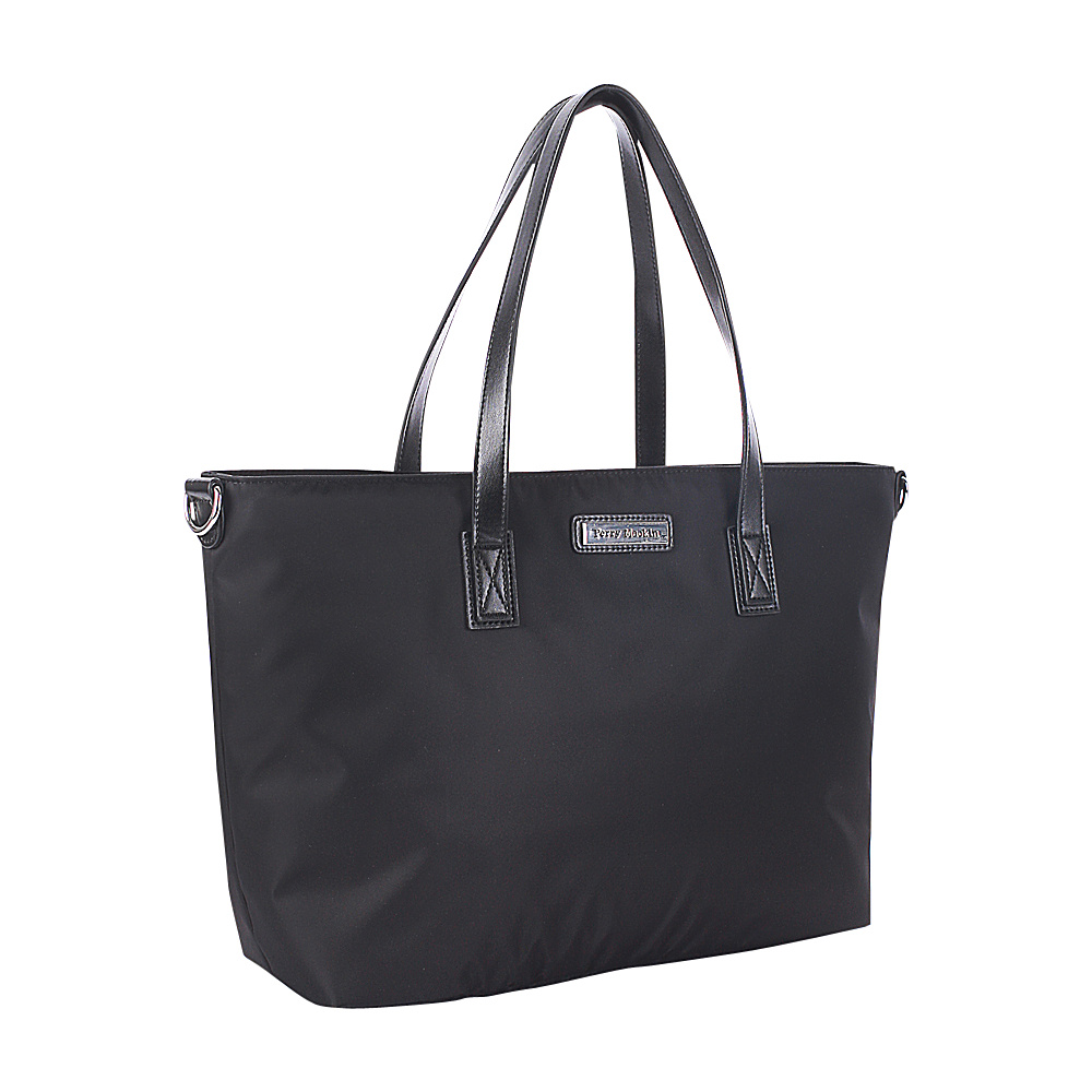 Perry Mackin Everyday Diaper Tote Bag Black - Perry Mackin Diaper Bags & Accessories