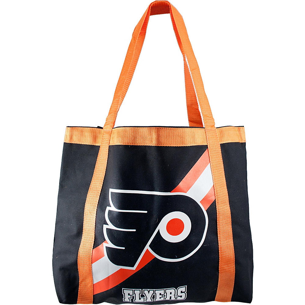 Littlearth Team Tailgate Tote - NHL Teams Philadelphia Flyers - Littlearth Fabric Handbags - Handbags, Fabric Handbags