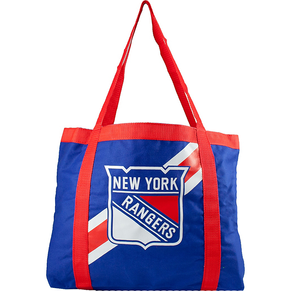 Littlearth Team Tailgate Tote - NHL Teams New York Rangers - Littlearth Fabric Handbags - Handbags, Fabric Handbags