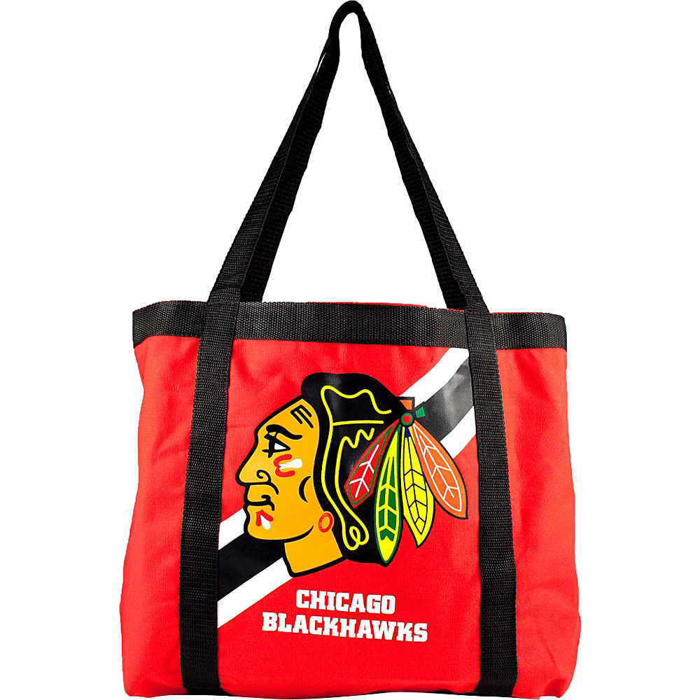 Littlearth Team Tailgate Tote - NHL Teams Chicago Blackhawks - Littlearth Fabric Handbags - Handbags, Fabric Handbags