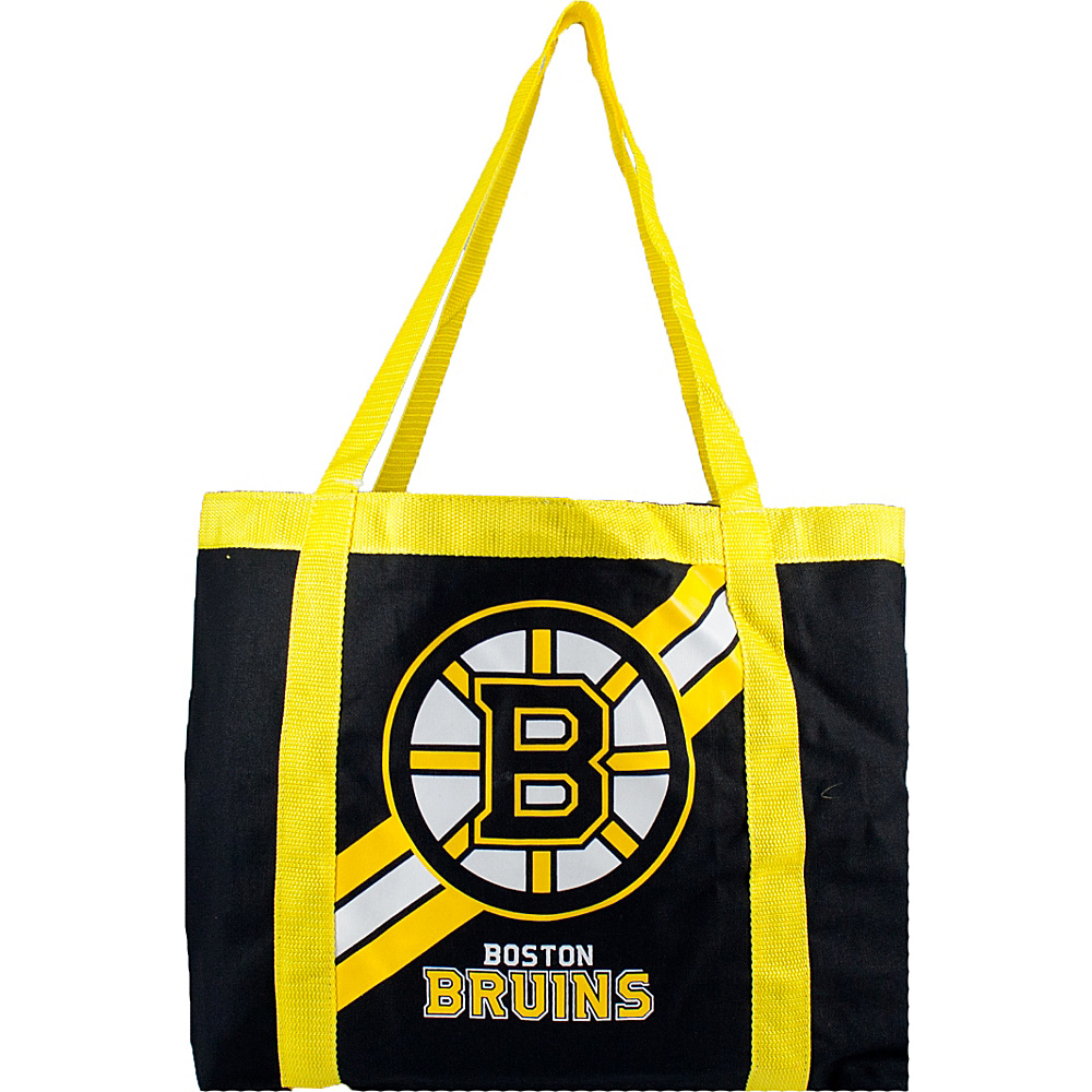 Littlearth Team Tailgate Tote - NHL Teams Boston Bruins - Littlearth Fabric Handbags - Handbags, Fabric Handbags