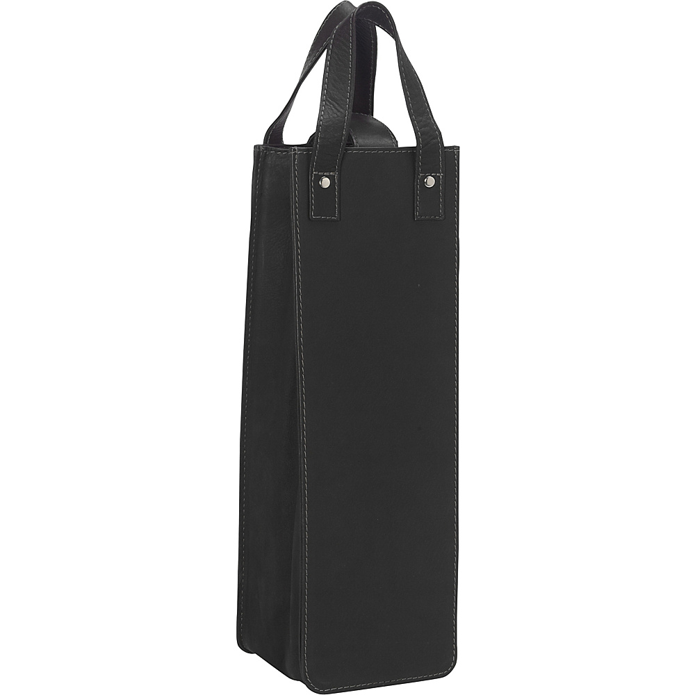Piel Single Wine Tote Black - Piel Outdoor Accessories - Outdoor, Outdoor Accessories