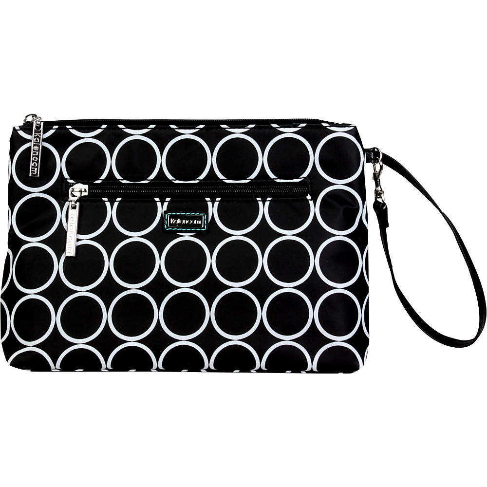Kalencom Diaper Bag Clutch Black Holes - Kalencom Diaper Bags & Accessories