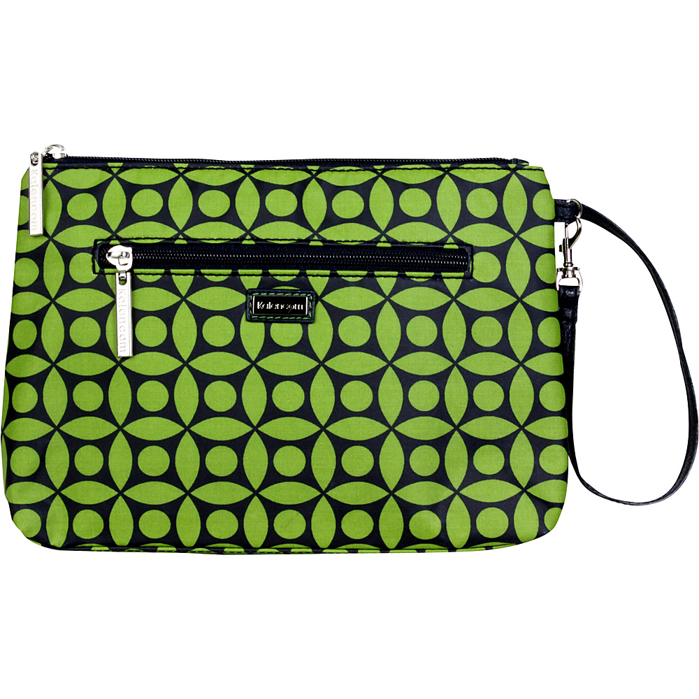 Kalencom Diaper Bag Clutch Green Clover Kalencom Diaper Bags Accessories