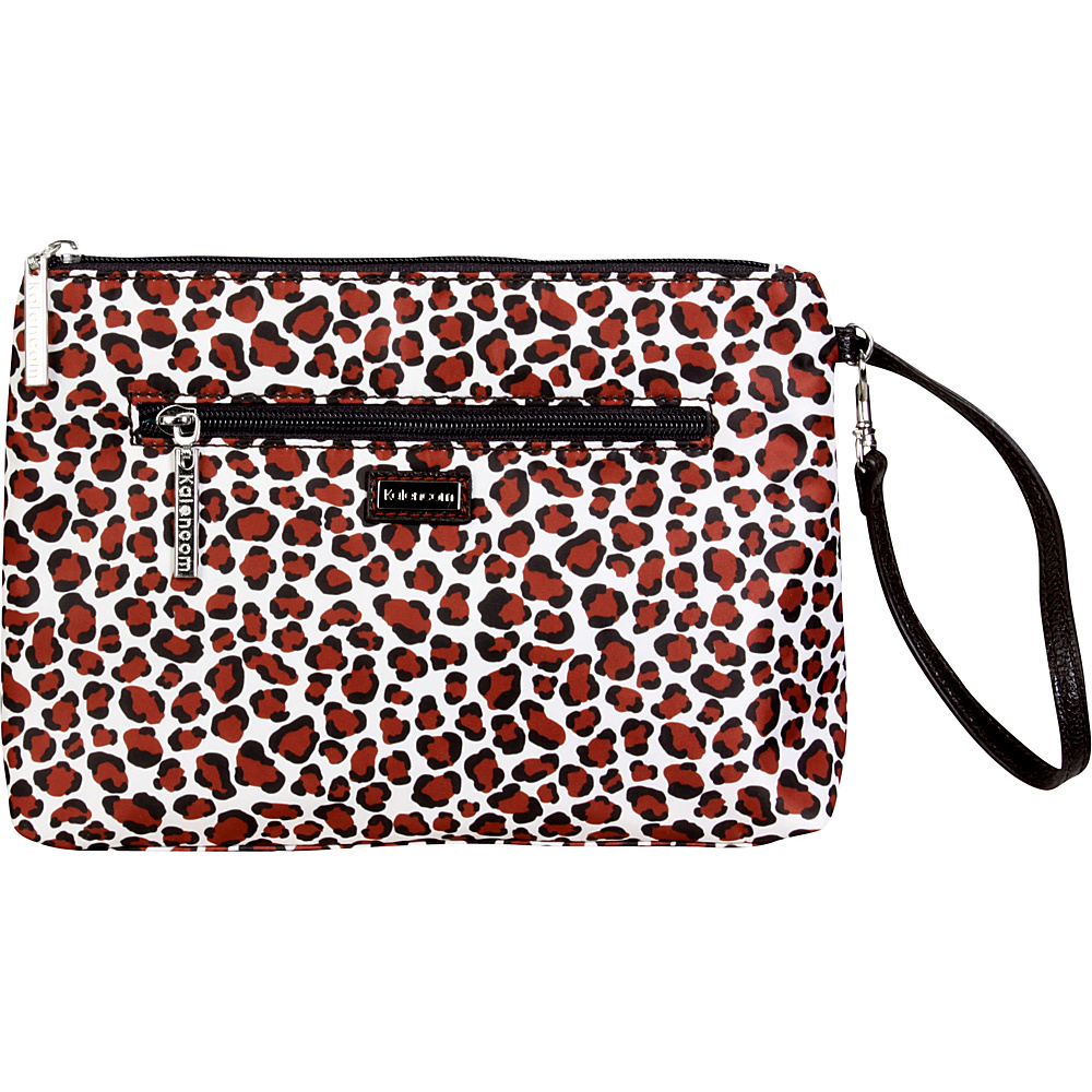 Kalencom Diaper Bag Clutch Safari Cheetah - Kalencom Diaper Bags & Accessories