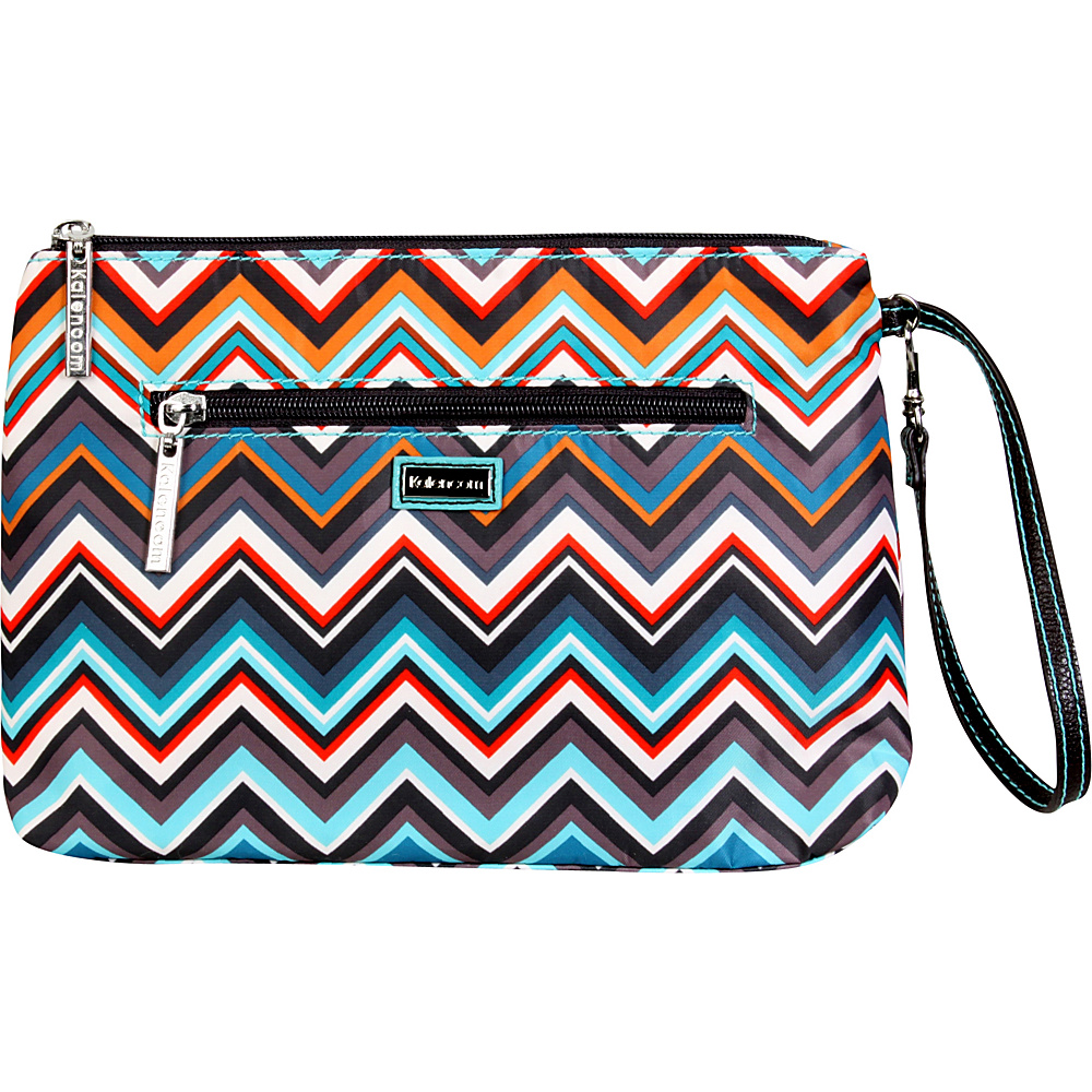 Kalencom Diaper Bag Clutch Safari Zig Zag - Kalencom Diaper Bags & Accessories