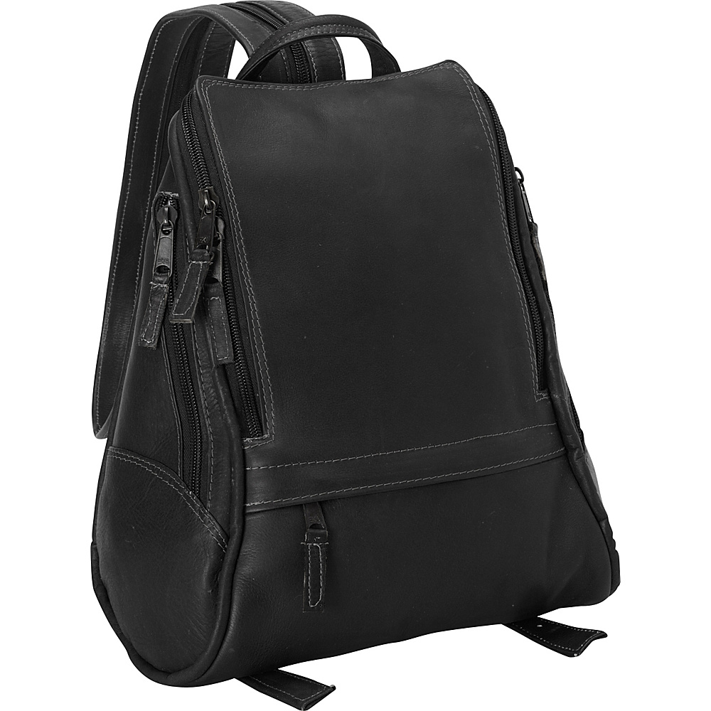Latico Leathers Apollo Backpack - Medium Black - Latico Leathers Leather Handbags