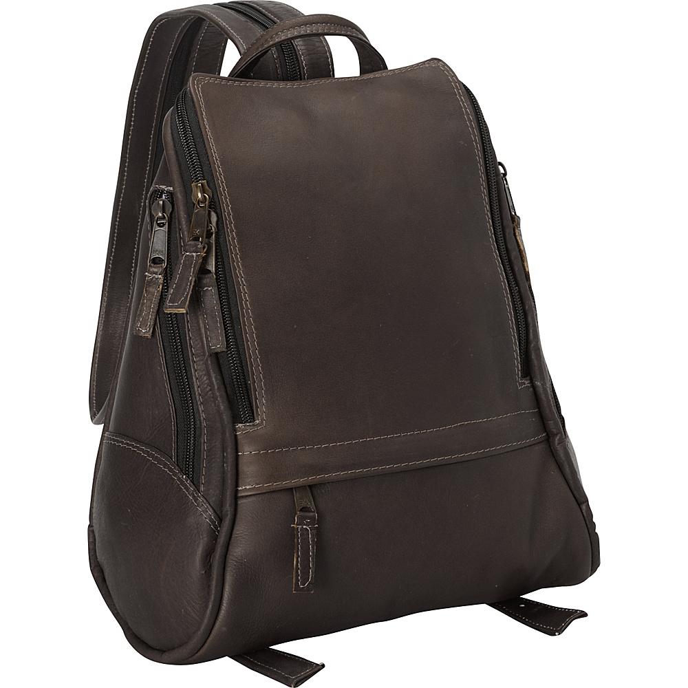 Latico Leathers Apollo Backpack - Medium Café - Latico Leathers Leather Handbags